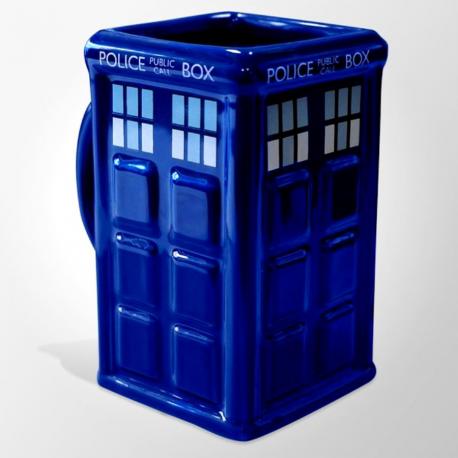 Tazza in ceramica Doctor Who Tardis police call box 3D Mug 225 ml GB eye