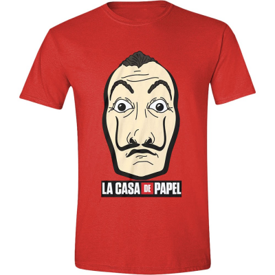T-shirt Casa di carta - La Casa de Papel Money Heist Mask