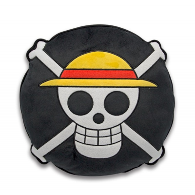 Cuscino One Piece Straw Hat Skull Cushion 32cm ABYstyle