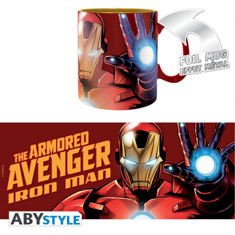 Tazza Marvel Iron Man The Armored Avenger Foil Mug 460 ml ABYstyle