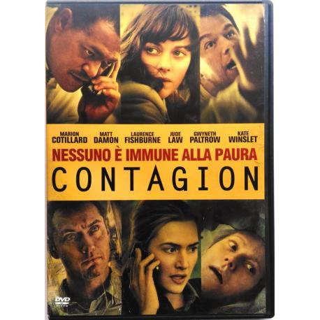 Dvd Contagion di Steven Soderbergh 2011