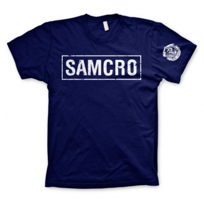 T-shirt Sons Of Anarchy - SAMCRO Distressed maglia Uomo Hybris