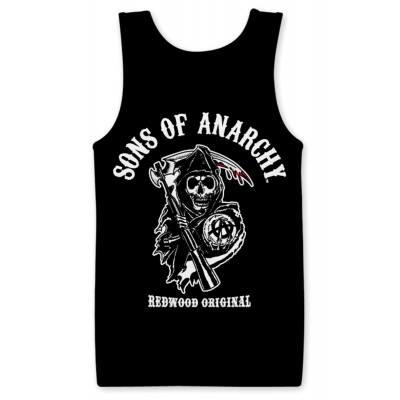 Canottiera Sons of Anarchy Redwood Original Reaper Tank Top