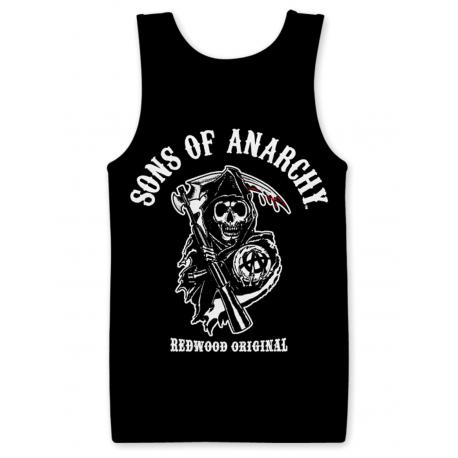 Canottiera Sons of Anarchy Redwood Original Reaper Tank Top