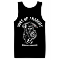 Canottiera Sons of Anarchy Redwood Original Reaper Tank Top Uomo Hybris