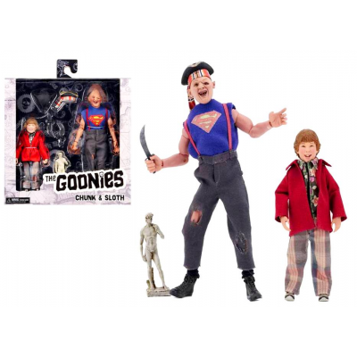 Action figure retro clothed The Goonies Sloth and Chunk 2-Pack Neca