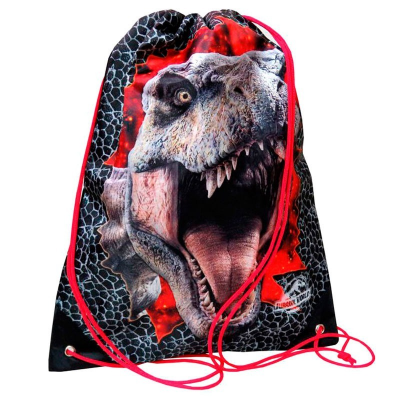 Sacca da palestra Jurassic World T-Rex sport gym bag