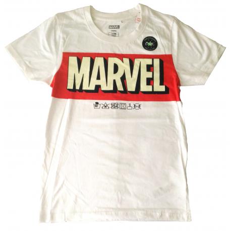 T-shirt Marvel Comics Glow in the Dark logo maglia child ufficiale Cerdà