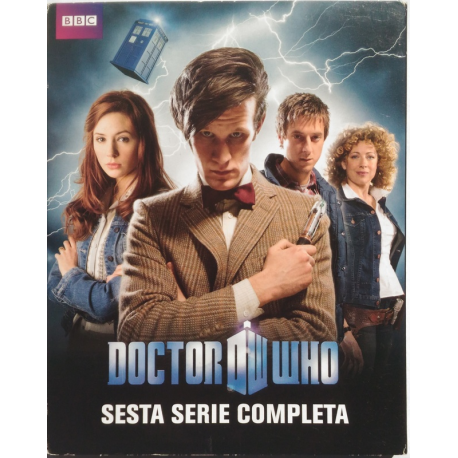 Blu-ray Doctor Who - Sesta serie Stagione 6