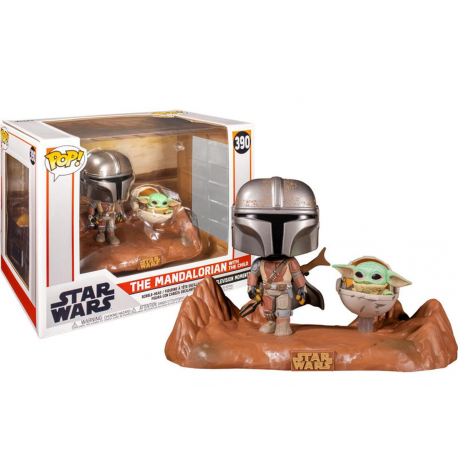 Star Wars The Mandalorian & The Child (Baby Yoda) Pop! Funko