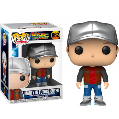 Back to the Future Marty McFly in Future Outfit Pop! Funko
