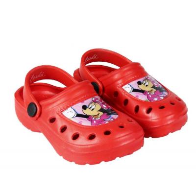 Ciabatte Crocs Disney Minnie Mouse child beach clogs Bambina rosso Cerdà