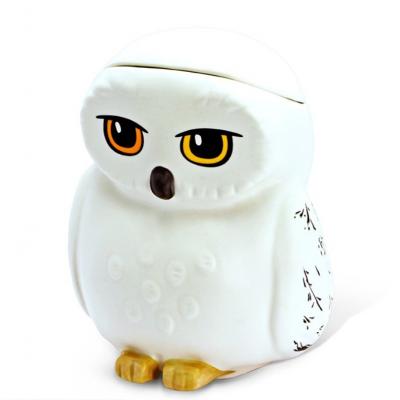 Tazza con coperchio Harry Potter gufo Hedwig owl 3D Shaped Mug ABYstyle