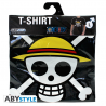 T-shirt One Piece Skull with map maglia black Uomo ufficiale ABYstyle