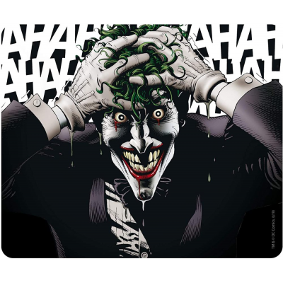 Mouse Pad DC Comics Batman The Joker laughing 24x20 cm ABYstyle