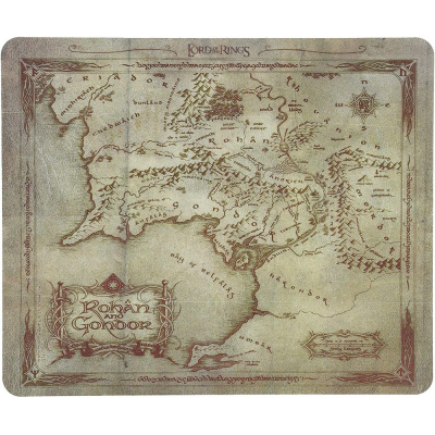 Mouse Pad Lord of the Rings Rohan & Gondor map 23x20 cm ABYstyle