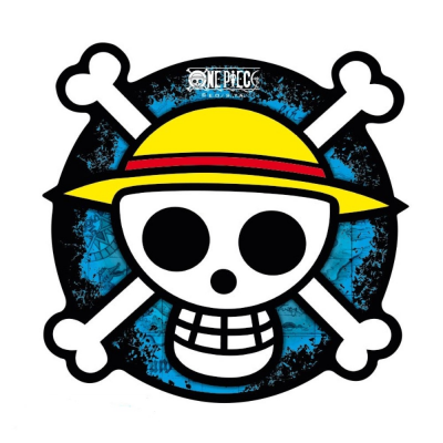 Mouse Pad One Piece Straw Hat crew Skull map 21x21 cm ABYstyle