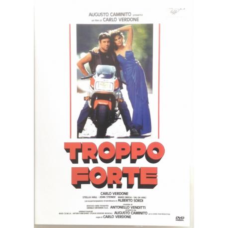 Dvd Troppo Forte di Carlo Verdone 1986