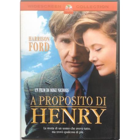 Dvd A proposito di Henry