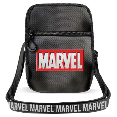Borsa a tracolla piccola Marvel logo small shoulder bag 20 cm Karactermania