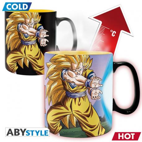 Dragon Ball Z Goku Saiyan Kamehameha Heat Change Mug ABY