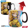 Dragon Ball Z Goku Saiyan Kamehameha Heat Change Mug ABY
