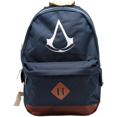 Zaino Assassin's Creed Crest logo blue Backpack 42 cm ABYstyle