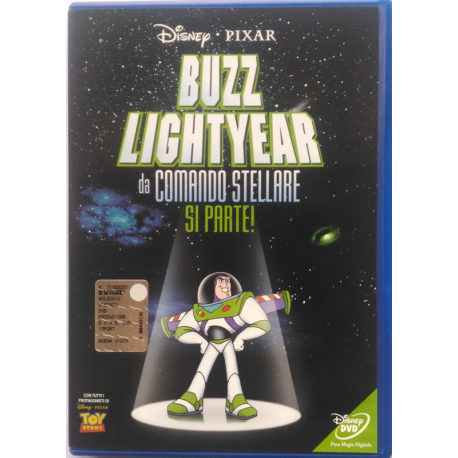 Dvd Buzz Lightyear da comando stellare, si parte!