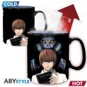 Tazza termosensibile Death Note Kira & L Heat Change Mug 460ml ABYstyle