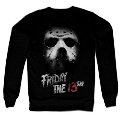 Felpa Friday The 13th Jason mask Venerdì 13 Sweatshirt maglione Uomo Hybris
