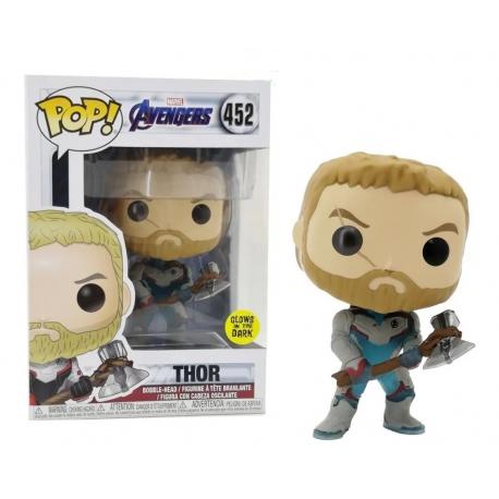 Marvel Avengers Thor Glow in the dark Pop! Funko vinyl figure bobble-head n° 452