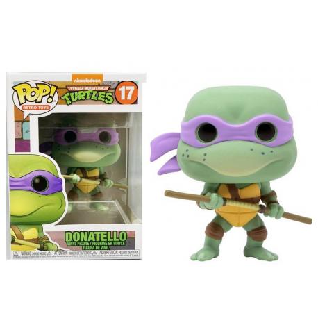Teenage Mutant Ninja Turtles Donatello Pop! Funko retro vinyl figure n° 17