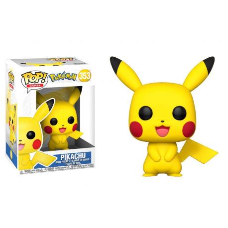 Pokemon - Pikachu Pop! Funko games vinyl figure n° 353