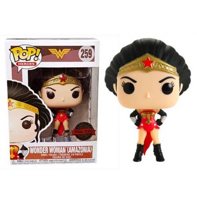 DC Comics Wonder Woman Amazonia Pop! Funko vinyl figure Special edition n° 259