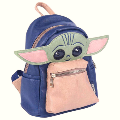 Zaino Star Wars Mandalorian The Child Baby Yoda backpack 30cm Cerdà
