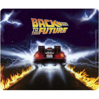 Mouse Pad Flexible Back To The Future Delorean 23x20 cm ABYstyle