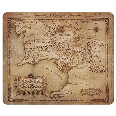 Mouse Pad Flexible Lord of the Rings Rohan & Gondor map 23x20 cm ABYstyle