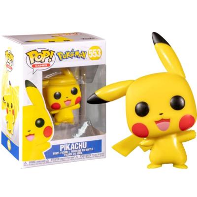 Pokemon - Pikachu Waving Pop! Funko games vinyl figure n° 553