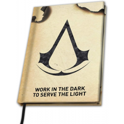 Taccuino Assassin's Creed Crest Logo Premium A5 Notebook ABYstyle