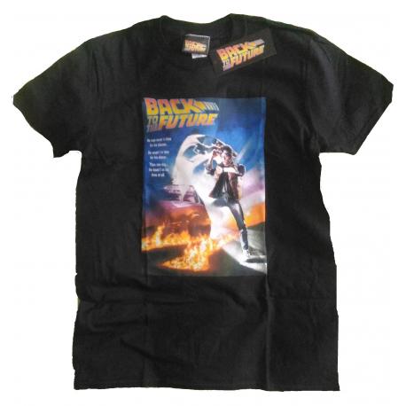 T-shirt Back To The Future Classic Poster maglia uomo Ritorno al Futuro