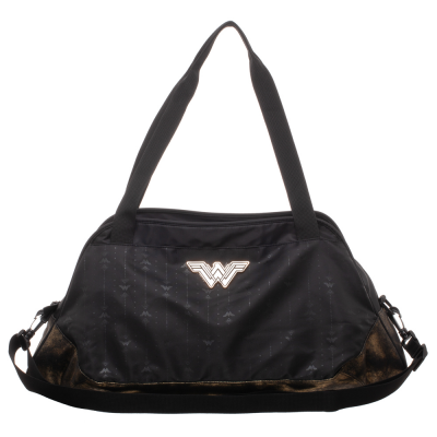 Borsa da palestra DC Comics Wonder Woman Athletic Duffle Gym Bag Bioworld