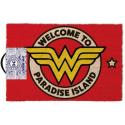 Zerbino DC Comics Wonder Woman Welcome to Paradise Door Mat 40x60cm Pyramid