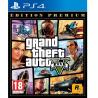 Gioco PS4 GTA V- Grand Theft Auto 5 - Edition Premium [ed. Francia 2014] Nuovo
