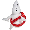 Peluche Ghostbusters No Ghost logo plush toy 32cm ufficiale Columbia Pictures