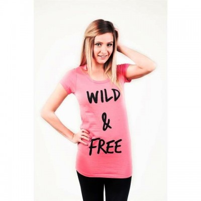 T-shirt Atticus Wild and Free Donna