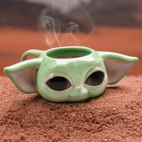 Tazza in ceramica Star Wars Mandalorian The Child 3D Shaped Mug 300ml Paladone
