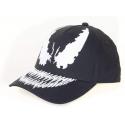 Cappello Marvel Venom Face baseball black Snapback Cap Hat Drew Pearson