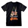 T-shirt A Clockwork Orange Poster Arancia Meccanica maglia nera Uomo ufficiale