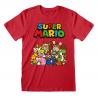 T-shirt Nintendo Super Mario – Main Character Group maglia Uomo ufficiale