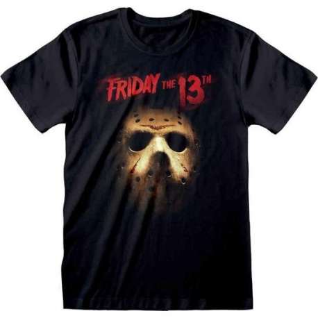 T-shirt Friday The 13th Jason Voorhees mask Venerdì 13 maglia Uomo ufficiale
